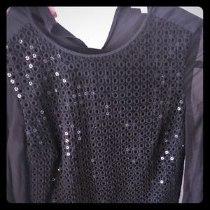 Tory Burch Sequin Blouse